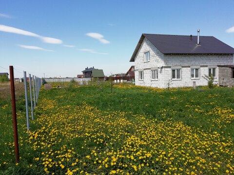 Дом 190 м2 на участке 9 сот, с. Липицы Серпуховского района.