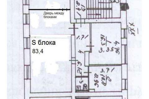 Офис 83м2, Офисное здание, 1-я линия, улица Матросская Тишина 23с1, .