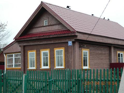 Дом 60 кв.м. в деревне