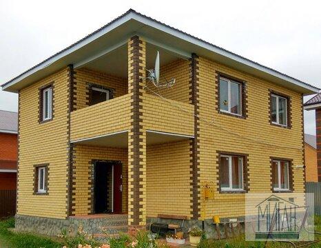 Дом под ключ в деревне Кабаново, Ногинский район.