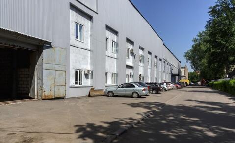 Производственно-складской комплекс 23000 м2 в ЮВАО Подъемная 14с1