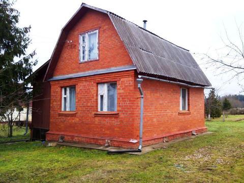 Кирпичный дом 5х7 на участке 12 соток, д. Новомихайловка.