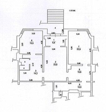 107м на первом этаже дома, 10800 руб.
