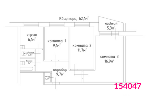 Продажа квартиры, м. Отрадное, Ул. Мусоргского