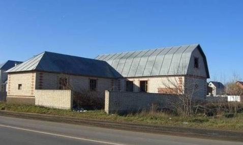 Продам недостроенный кирпичный дом в деревне Клишева.