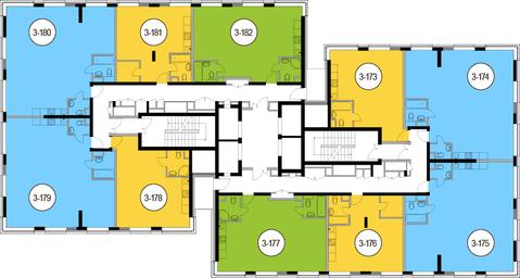 Москва, 3-х комнатная квартира, Головинское ш. д.10, 14678100 руб.
