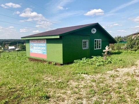 Продается летний дом у водохранилища в д.Волково Рзский р.
