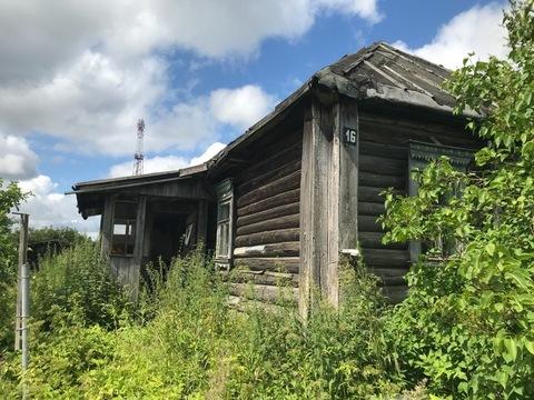 13 соток со старым бревенчатым домом в пригороде Можайска