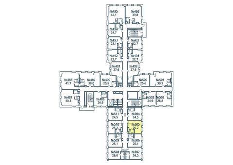 Москва, 1-но комнатная квартира, ул. Радиальная 6-я д.7, к 35, 2764926 руб.