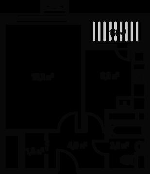 Москва, 1-но комнатная квартира, ул. Абрамцевская д.10, 5611500 руб.