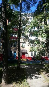 Квартира с большим потенциалом в сталинском фасадном доме