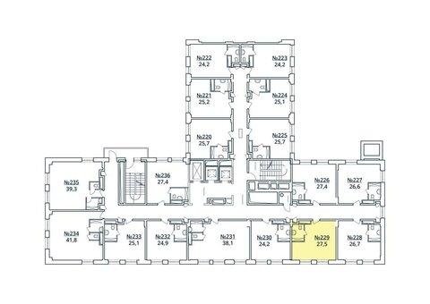 Москва, 1-но комнатная квартира, ул. Радиальная 6-я д.7, к 35, 3188377 руб.