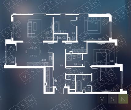 4-комнатная квартира, 139 кв.м.