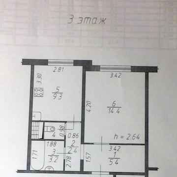 1 комнатная квартира, бульвар 65 летия победы д.14