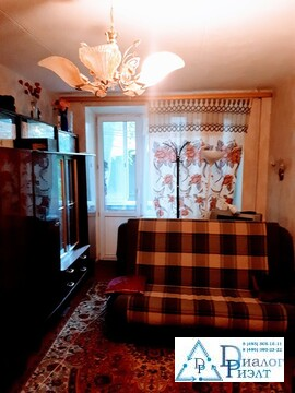 2-комнатная квартира 44 кв.м. в пешей доступности до станции Томилино.