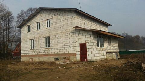 Двухэтажный дом 330 кв.м для ПМЖ в деревне Улиткино 24 км от МКАД
