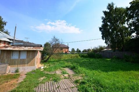Продается 6 соток с кирпичным домом в д. Манюхино