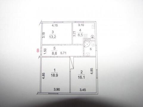Продается трехкомнатная квартира (Московская область, м.Выхино)