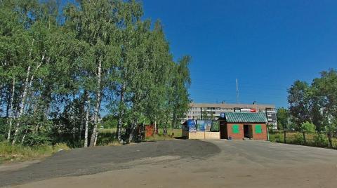 Участок 40 сот со строением и съездом на Горьковское шоссе