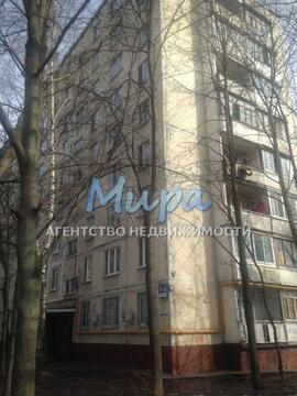 Москва, 1-но комнатная квартира, ул. Уссурийская д.5к1, 4700000 руб.