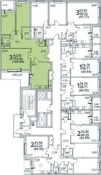 Москва, 3-х комнатная квартира, ул. Радиальная 6-я д.7, 9928756 руб.