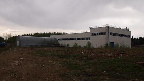Завод для производства блоков в свх.Останкино 18 км от МКАД
