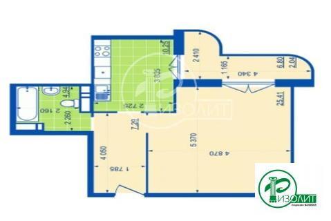 Купите квартиру 55,1 кв.м.