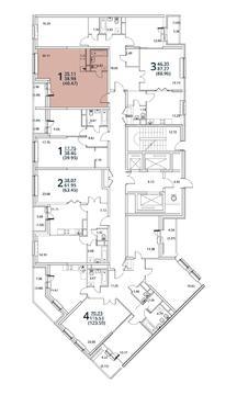 Москва, 1-но комнатная квартира, ул. Радиальная 6-я д.7, 4577157 руб.