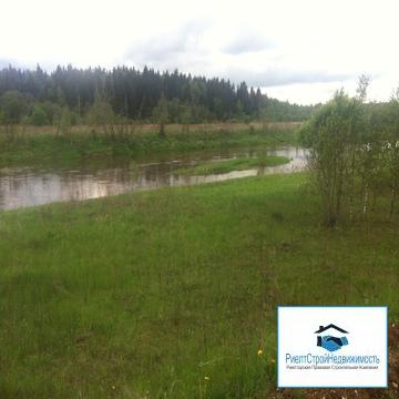 Участок в деревне 25 соток (ИЖС) возле реки и леса