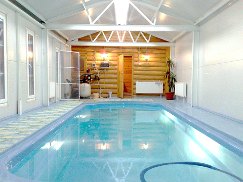 Дом для ПМЖ с бассейном в 30 км от Москвы по Минскому шоссе