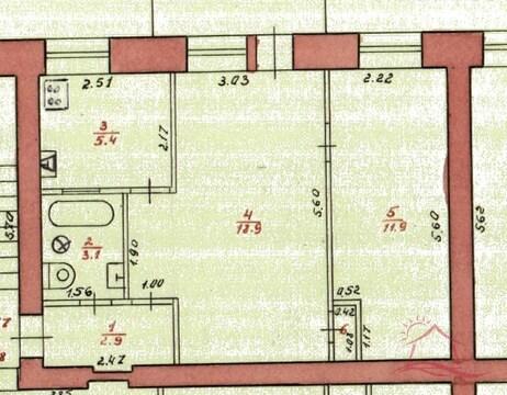 Дубна, 2-х комнатная квартира, Театральный 1-й проезд д.5, 2520000 руб.