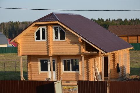 Новый дом из бревна в 5 км от г. Можайск, 88 км от МКАД, Минское ш