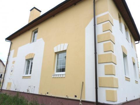 Новый кирпичный 2-этажный дом в д. М. Карасево. Все комм, 10 соток.
