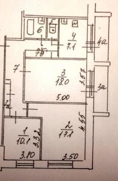 Продажа 3 комнатной квартиры м.Печатники (улица Шкулёва)