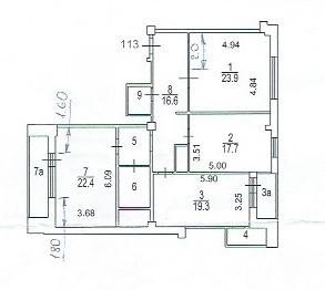 3-я квартира на Веерной