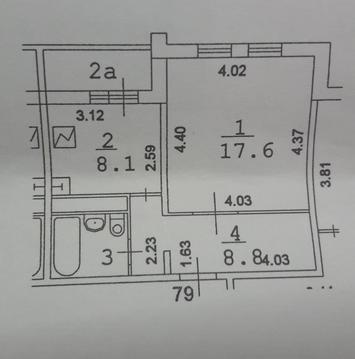1-комнатная квартира: Москва, ул. Святоозерская, д. 3