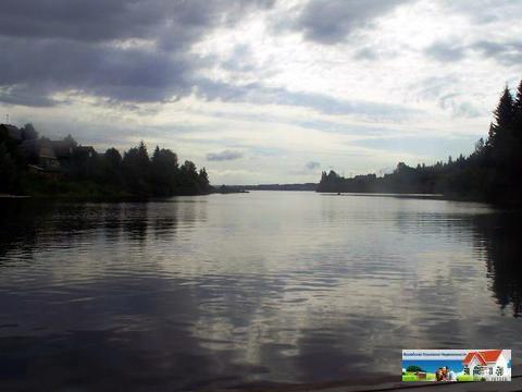 Участок на берегу реки, 24 сотки, МО, Рузский р-н, 100 км от МКАД.