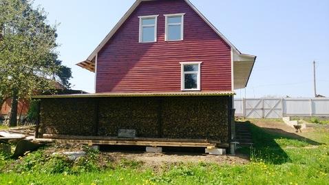 Дом- 167кв.м. с баней - 60кв.м. и своим прудом, 3-х этажный, 3 спальни