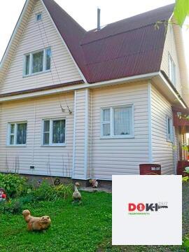 Бревенчатый дом 111 кв.м. на участке 9.7 соток в Шатурском районе!