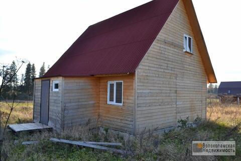 Земельный участок с новым домом в д.Волочаново, Шаховского район