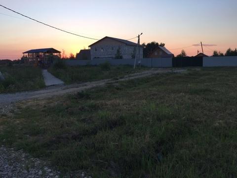 Продаётся отличный земельный участок в деревне Холуденево в Раменском .