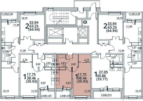 Москва, 1-но комнатная квартира, ул. Радиальная 6-я д.7, 4587957 руб.