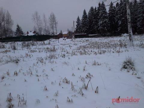 Участок ИЖС 8.43 сотки в черте города Солнечногорск, все коммуникации.