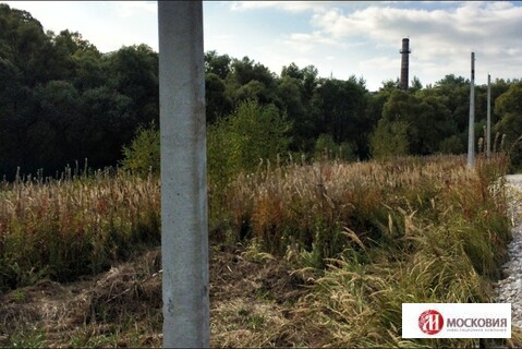Лесной участок 15 соток, на берегу реки. Москва. 30 км от МКАД.
