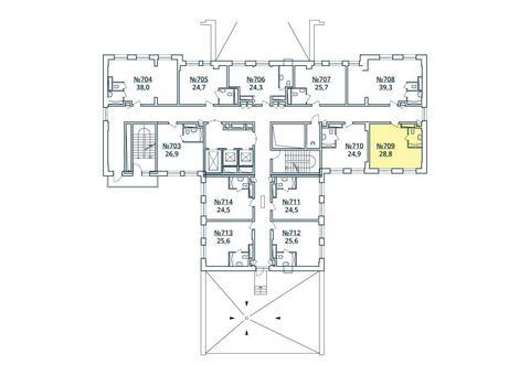 Москва, 1-но комнатная квартира, ул. Радиальная 6-я д.7, к 35, 3187468 руб.