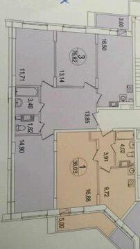 Продаётся 3-комнатная квартира по адресу Вертолетная 10