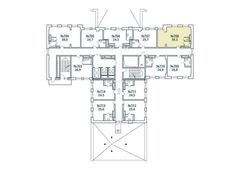 Москва, 1-но комнатная квартира, ул. Радиальная 6-я д.7, к 35, 4476898 руб.