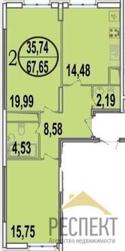 Продаётся 2-комнатная квартира по адресу Октября 44