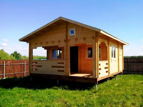 Летний новый дом на первой линии Можайского водохранилища.