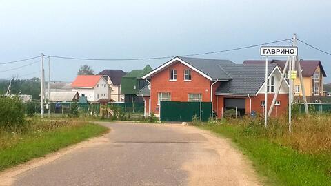 Земельный участок 21,58 сот. в д. Гаврино Шаховского района для лпх